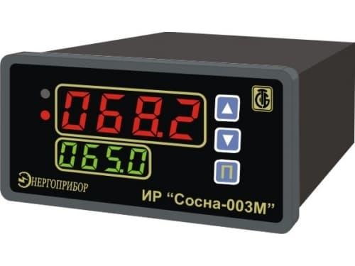 фото измерителя-регулятора одноканального Сосна-003М - ТД Энергоприбор