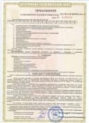 фото приложения стр. 4 к сертификату на датчики взрывозащиты - ТД Энергоприбор